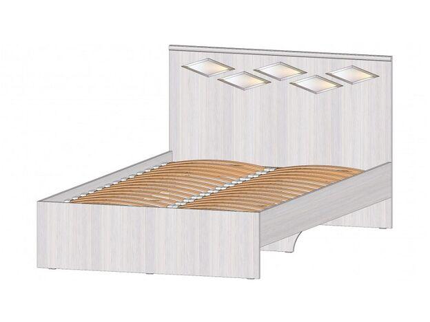 Кровать 1200 Диана анкор светлый