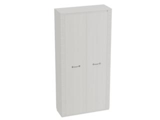 Шкаф 2-х дверный гостиная Элана Бодега белая