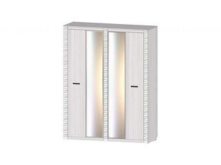 Шкаф 4-х створчатый Ривьера анкор светлый