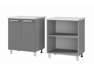 Шкаф-стол 2-дверный 7Р1 МДФ ШхВхГ 700х820х600 мм