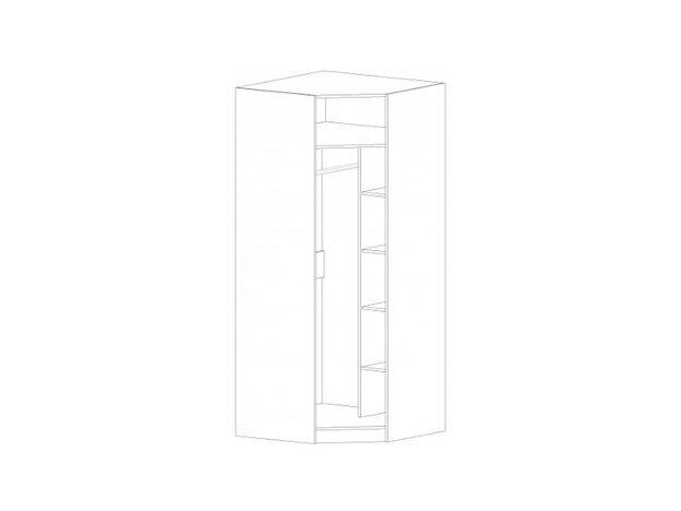 Шкаф угловой Диана анкор светлый