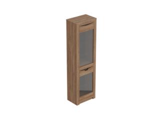 Шкаф-витрина 1 дверный Соренто Дуб стирлинг