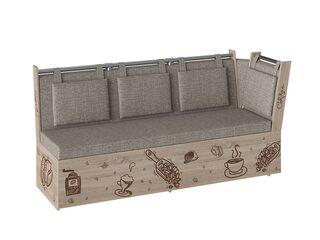 Скамья Роденго со спальным местом ткань бежевая
