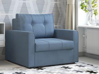 Кресло-кровать Лео арт. ТК-361 серо-синий