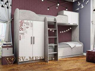 Кровать 2-х ярусная Грей