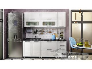Кухонный гарнитур Монро 2,0 Белый глянец