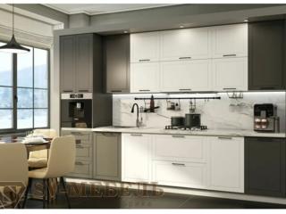 Модульная кухня Вектор СВ Графит-Бланж