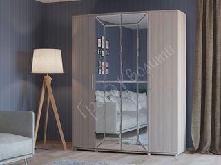 Шкаф 4-х дверный 4-5200 Амели ясень шимо светлый