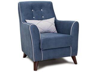 Кресло для отдыха Френсис арт. ТК-263 серо-синий