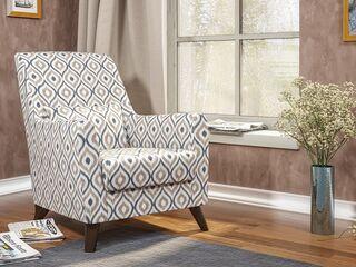 Кресло для отдыха Либерти арт. ТК-235 Геометрия 18 бежевый