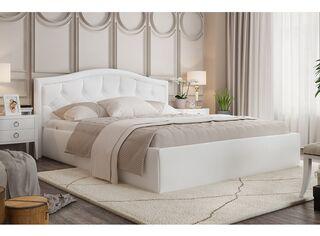 Кровать Стелла белая с подъемным механизмом