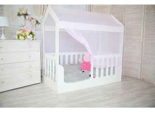 Кроватка Домик белая